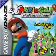 Jaquette PAL Mario Golf Advance