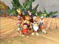 Donkey Kong Country (série télévisée) - Famille Kong