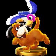 Duo Duck Hunt - SSBWiiU (trophée)