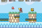 Gameplay super mario advance 4
