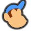 Icône Diddy Kong bleu Ultimate
