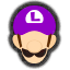 Icône Luigi violet Ultimate