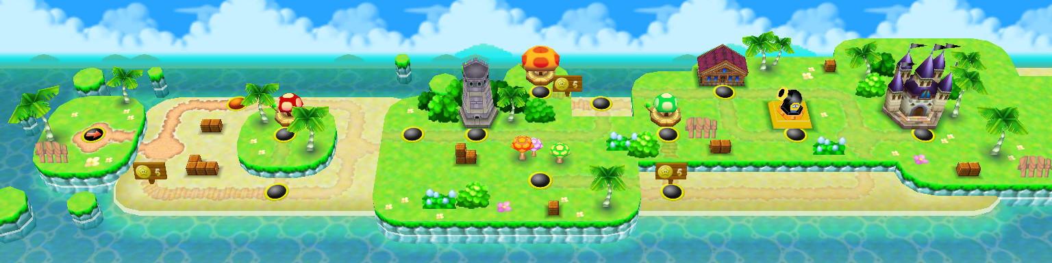 World 3 (New Super Mario Bros ) | MarioWiki | FANDOM powered