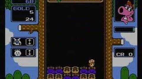 Wario's Woods - NES Gameplay