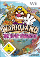 Wario Land The Shake Dimension - Germany Boxart