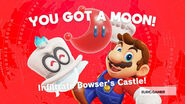 Bowser Castle Power Moon