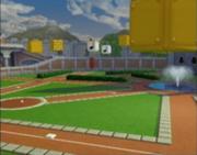 Jardin de Peach dans Mario Superstar Baseball
