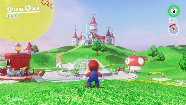 Mario Odyssey Pilzkönigreich