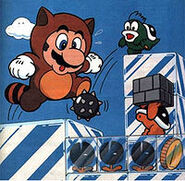 Mario en Isla de hielo