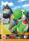 Carte amiibo Yoshi course équestre