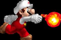 Fire Mario Artwork - New Super Mario Bros