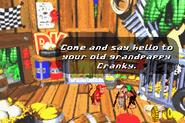 Cranky's Hut - Donkey Kong Country 2 (Advance)