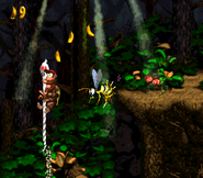 DKC2 Screenshot Geistergrube 7