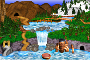 DKC3GBA Screenshot Pacifica