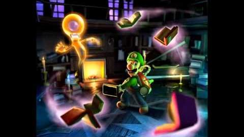 Library Piano - Luigi's Mansion Dark Moon Music Extended