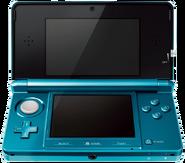 N3DS, Foto, Aqua Blau