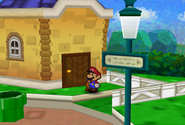Outside Russ T.'s House (Paper Mario)