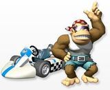 Funky Kong MKWii