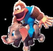Kiddy Artwork 4 - Donkey Kong Country 3