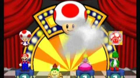 Mario Party 2- Jump 'n' Toad (TOAD in the Box)