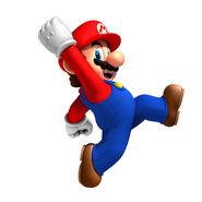 NSMBW Artwork Mario 2