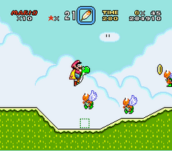SMW Screenshot Vanille-Rätsel 2