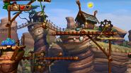 DKCTF Screenshot 3-A Swing dich durch (Nähe 2. Checkpoint)
