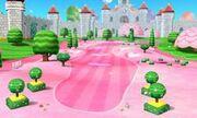 Jardin Peach dans Mario Golf World Tour