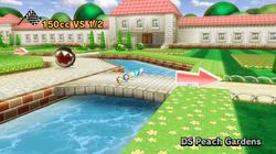 Jardin de Peach dans Mario Kart Wii