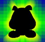 SPM Sprite Fangkarte Dunkel-Gumba