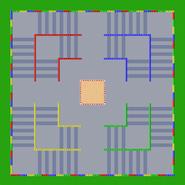 Circuit Combat 1 - MKSC (parcours)