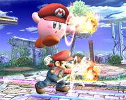 Kirby Mario SSBB