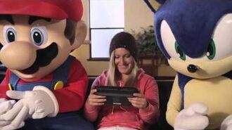 MARIO & SONIC AT THE SOCHI 2014 OLYMPIC WINTER GAMES Snowboarder Jamie Anderson Trailer