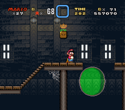 SMW Screenshot Tal-Spukhaus