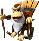 Cranky Kong - DK Country Returns