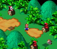 SMRPG Screenshot Rosenpfad