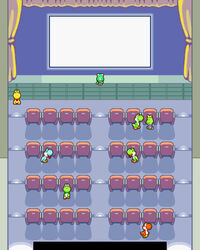 M&L Screenshot Yoshi-Theater