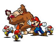 MvD4 Donkey Kong entführt Pauline