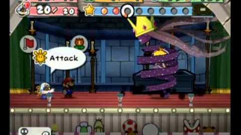 Paper Mario TTYD - Level Zero - Shadow Queen