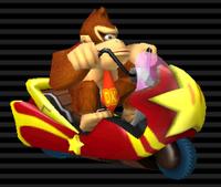 Scoot Comète Donkey Kong