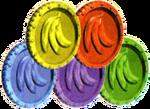 DK64 Artwork Bananenmünzen