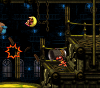DKC3 Screenshot Furioses Flinten-Feuer