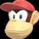 Diddy Kong (head) - MaS