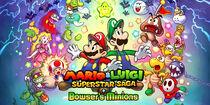 Mario&LuigiSuperstarSaga+Bowser'sMinions-FondD'Ecran2