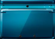 N3DS Foto Aqua Blau frontal