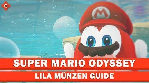 Super Mario Odyssey- Alle Sammelobjekte (lila Münzen - Seeland) - Collectible Locations Guide