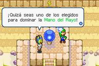 Luigi el elegido Mano Rayo M&LSS
