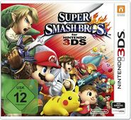 Super Smash Bros for Nintendo 3DS Germany boxart