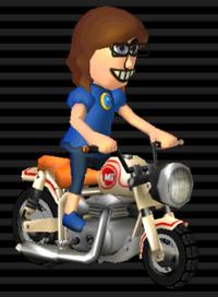 Cyclo Vroum - Mii féminin