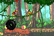 DKC2GBA Screenshot Dschungelzauber 2